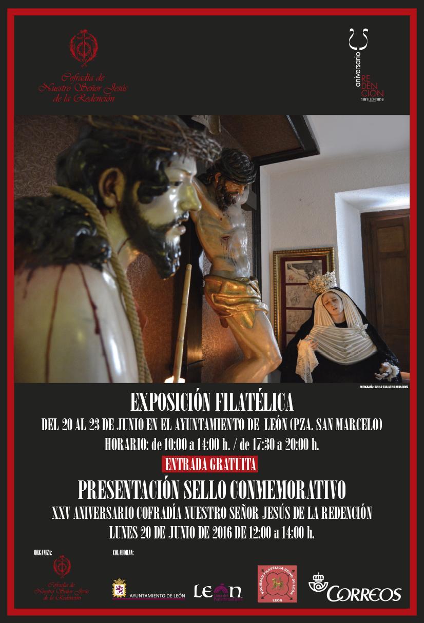 CARTEL EXPOSICIÓN FILATELICA print
